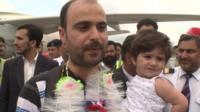A Pakistani man who was evacuated from Yemen