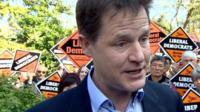 Nick Clegg in Kingston