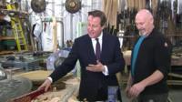 David Cameron in Northern Ireland