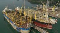 Oil rig ships