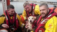 New Brighton lifeboat crew