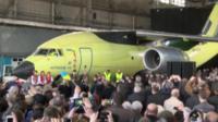 The AN-178 cargo plane