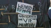 Signs in Calais