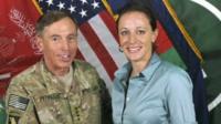 David Petraeus and Paula Broadwell