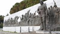 Monument to soldiers
