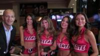 The BBC's Alex South meets the ''ring girls''