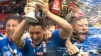 Bournemouth celebrate championship title