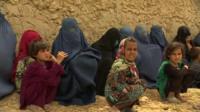 Women and children from Kunduz