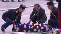 Ceremony in Paris marks 70 years since VE Day