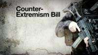 Counter-Extremism Bill graphic