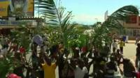 People celebrating in Burundi