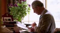 File footage of Prince Charles
