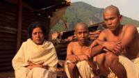 Nepal earthquake survivors, the Bista family, in mourning for their dead relatives