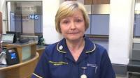 Judith Morris, the Director of Nursing and Midwifery at Stepping Hill Hospital