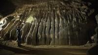 A caver