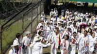 Activists near the DMZ