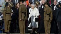 The Queen attending a pageant to mark 200 years of Gurkha service to the Crown