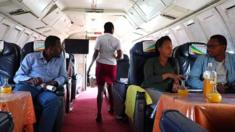مقهى الطائرة في أثيوبيا