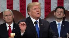 خطاب الرئيس ترامب أمام الكونغرس بدا تصالحيا