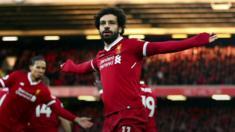 """جماهير ليفربول تغني: """"إذا سجل محمد صلاح مجددا سنصبح مسلمين"""""""