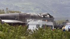 مقتل عسكريين جزائريين وعائلاتهم في سقوط طائرة نقل عسكرية