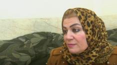 سكينة المرأة التي تحاول انقاذ أطفال تنظيم الدولة الاسلامية