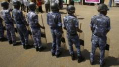 قوات أمن سودانية