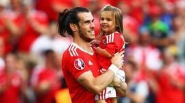 Gareth and his daughter