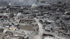 Mosul destruction