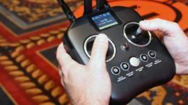Radio Controls for drones