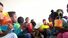 Eritrean children