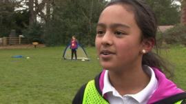 Leicester schoolgirl