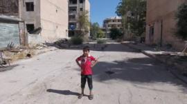 Child in Aleppo