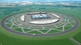 Circular runway