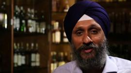Portrait of Sukhinder Singh, CEO of The Whisky Exhchange