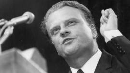 Bildergebnis für billy graham and the pope images