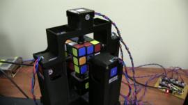 Rubiks robot