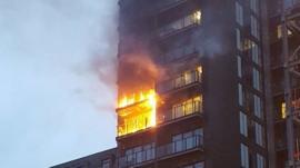 Bildergebnis für Manchester flats fire