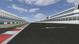 Circuit of Wales CGI