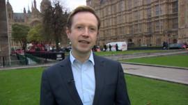 BBC reporter Adam Fleming