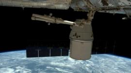 ISS and Earth