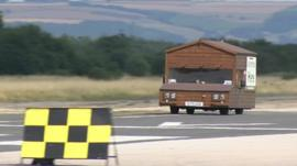 Watch the world's fastest shed record attempt