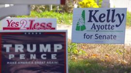Kelly Ayotte sign