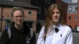 Wrexham students describe hearing a