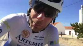 Endurance cyclist Mark Beaumont