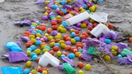 Thousands of eggs have washed up on a German Island