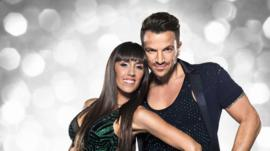 Peter Andrew and Janette Manrara