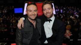 Kevin Simm and Ricky Wilson