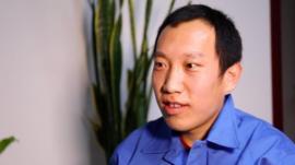 Steelworker Yushuang Li