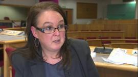 Anglesey Trading Standards officer Alison Farrar